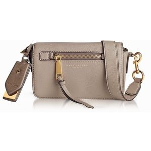 Marc By Marc Jacobs Recruit Crossbody Leather Bag